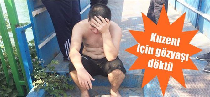 Boğulmak üzere olan kuzenini kurtardı; ama kendisi suda kayboldu