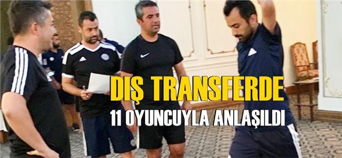 Tarsus dış transferde 11 oyuncuyla anlaşma sağladı