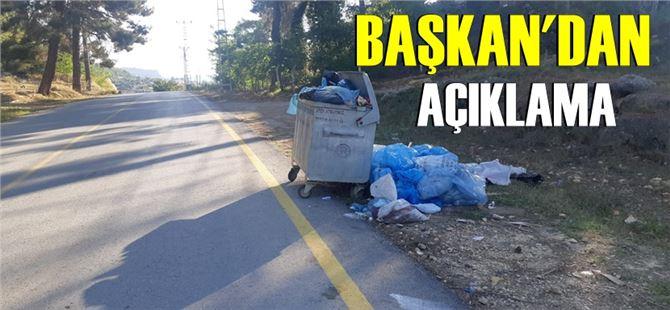 Başkan Seher Sorma'dan Çamlıyayla'daki çöp sorunu ile ilgili açıklama