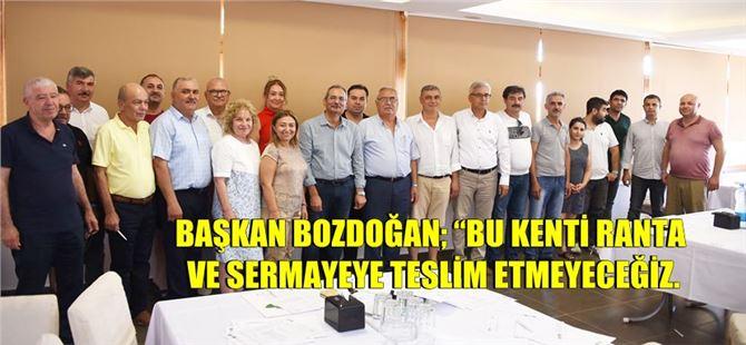 Tarsus Belediyesi Meclis Üyelerine Yönelik Bilgilendirme Çalıştayı Düzenledi