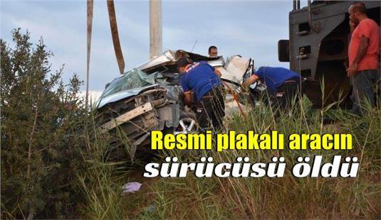 Mersin'den hareket eden tren, pikaba çarptı: 1 ölü