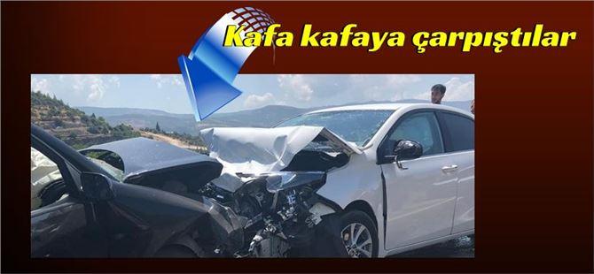 Mersin'de iki araç çarpıştı: 1 ölü, 3 yaralı
