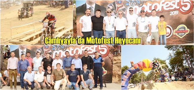 Çamlıyayla'da 5.Geleneksel Motofest Etkinliği