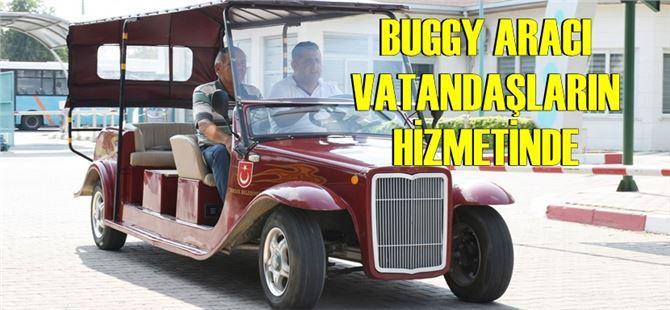 Tarsus Belediyesi'nde Buggy Aracı Vatandaşların Hizmetinde