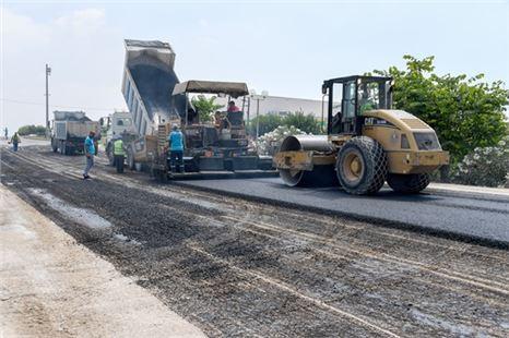 Toroslar 238. Cadde'de asfalt çalışması tamamlandı
