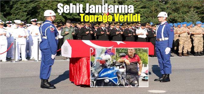 Şehit Jandarma Ali Cenk Yenier, son yolculuğuna uğurlandı