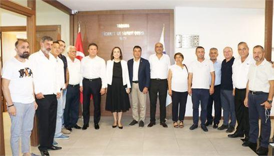 Milletvekili Zeynep Gül Yılmaz, Tarsus TSO'da
