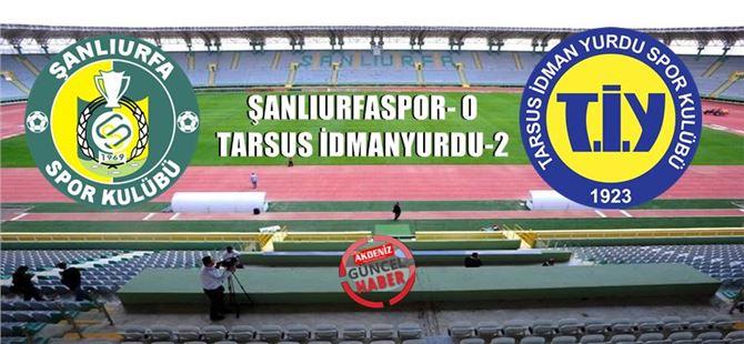 Tarsus, sezonun ilk galibiyetini Şanlıurfa'da aldı: 2-0