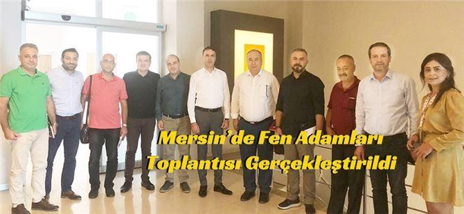Mersin'de Fen Adamları Toplantısı Gerçekleştirildi