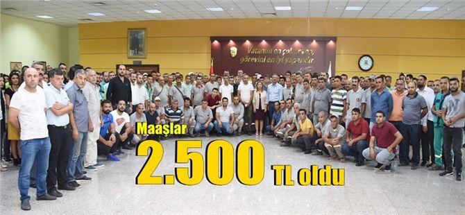 CHP'li Belediyede en düşük asgari ücret 2 Bin 500 TL oldu