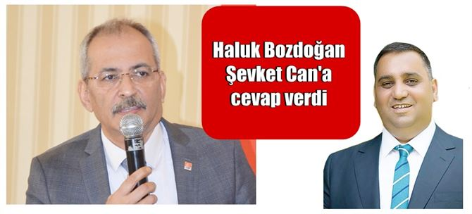 """Haluk Bozdoğan'dan Şevket Can, """"Konuşarak şehir milliyetçisi olamazsınız!"""""""