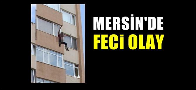 Mersin'de lise öğrencisi 10. kattan aşağıya atladı