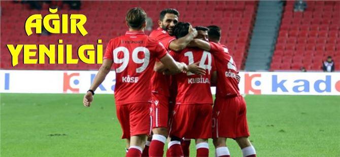 Samsunspor 5- Tarsus İdmanyurdu 0