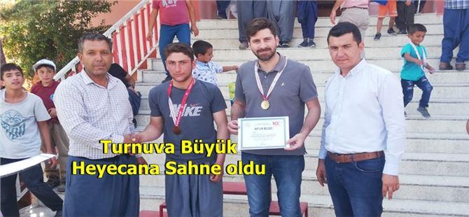 Tarsus'ta Lap İnciri Bilek Güreşi Şampiyonası sona erdi