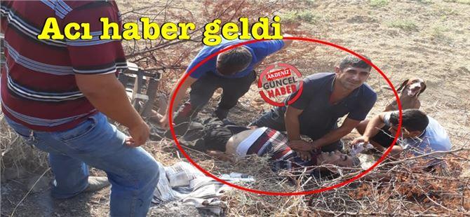 Tarsus'taki traktör kazasında yaralanan şahıs vefat etti