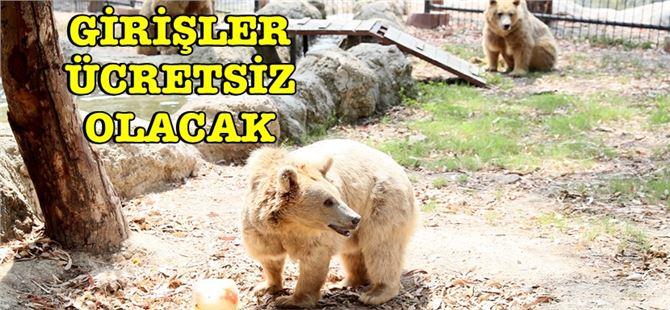 Tarsus Hayvan Parkı'na girişler yarın ücretsiz