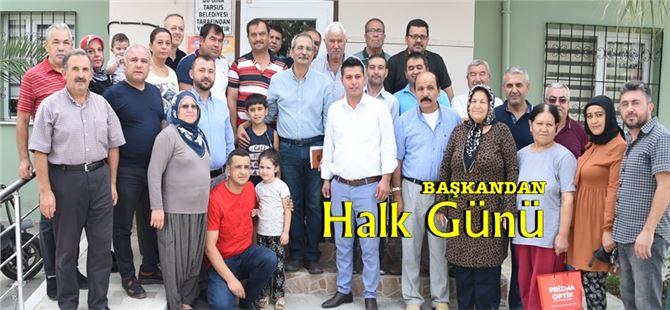 """Başkan Bozdoğan, 11 mahallede """"Halk Günü"""" düzenledi"""