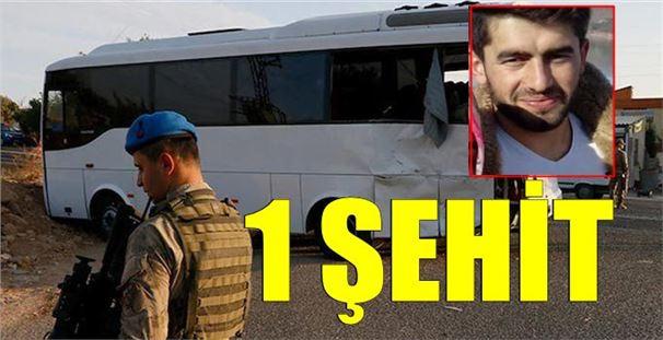 Şanlıurfa'da askeri midibüs ile tırın çarpışması: 1 şehit