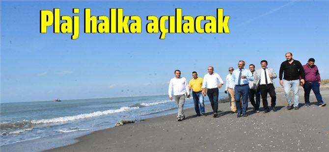 Başkan Bozdoğan, Tarsus Plajı'nı Halka Açmak İçin Düğmeye Bastı