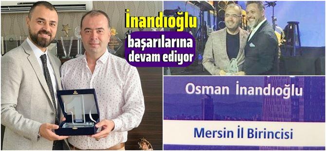 Osman İnandıoğlu, sigorta sektöründeki başarılını sürdürüyor