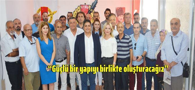 Kaya Tepe Mersin Gazeteciler Cemiyeti başkanlığına adaylığını açıkladı