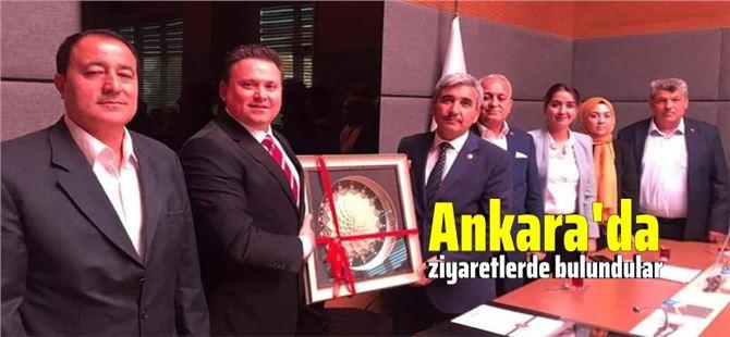 Ak Parti Tarsus İlçe teşkilatından bölge vekillerine ziyaret