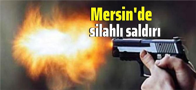 Mersin'de işyerine silahlı saldırı; saldırganlar yakalandı