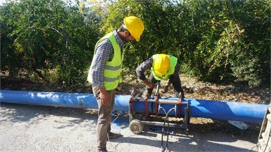 MESKİ'nin Mezitli'de içmesuyu çalışmaları hız kesmiyor