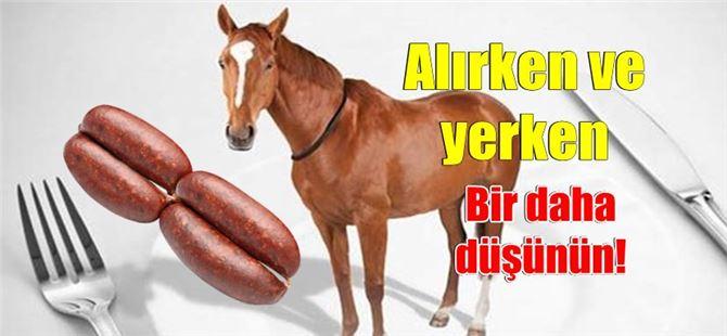 Tarsus'ta satılan bazı sucuklarda at etine rastlandı