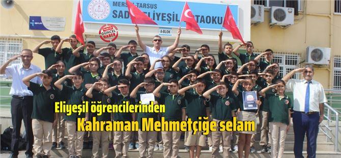 """Sadık Eliyeşil Ortaokulu """"Beyin Takımı""""ndan Barış Pınarı Harekatı'na selam var!"""