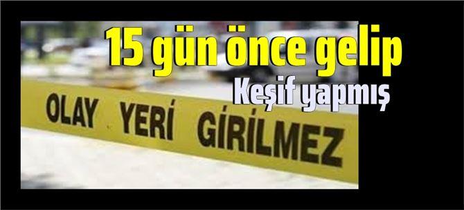"""Tarsus'ta cinayet; """"Namus meselesi"""" yüzünden işlemiş!"""