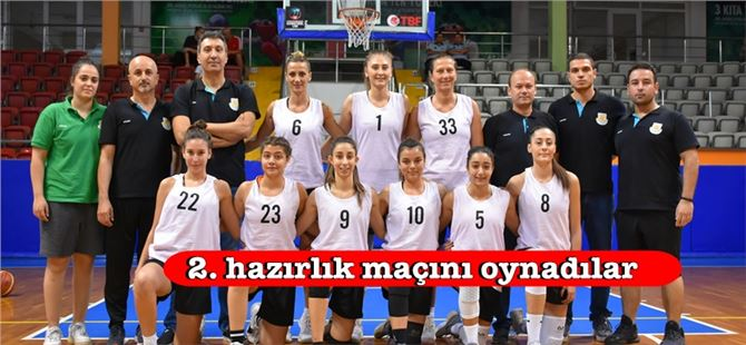Tarsus Belediyespor Kadın Basketbol takımı çalışmalarını sürdürüyor