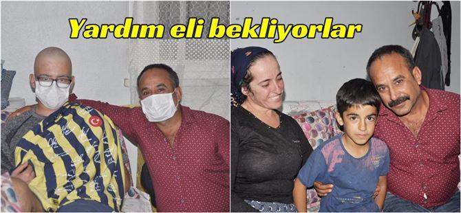 Kanser hastası Tarsuslu 2 kardeş uzanacak yardım elini bekliyor