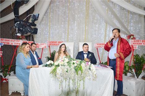 Ali ve Pırıl yaşamlarını birleştirdi