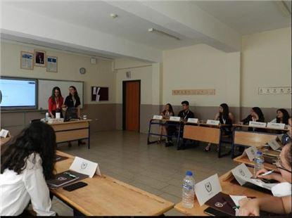 Sesim Sarpkaya Fen Lisesi Model Birleşmiş Milletler Konferansı Yapıldı