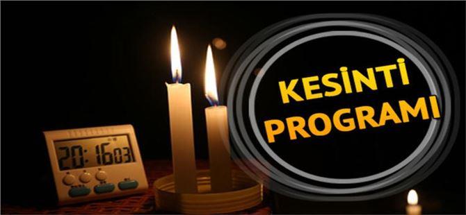 Tarsus merkez ve bağlı bazı mahallelerde elektrik kesintisi uygulanacak
