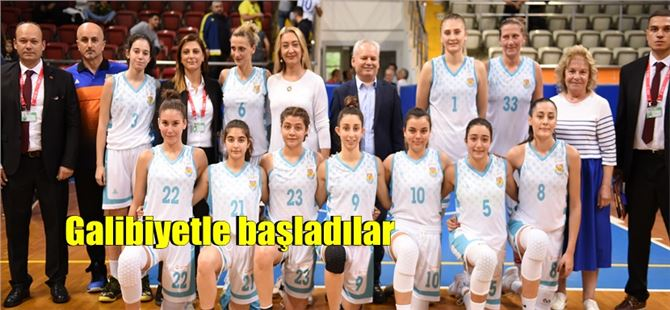 Tarsus kadın basketbol takımı sezona galibiyetle başladı
