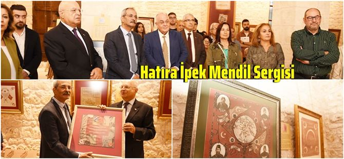 Tarsus'taki Hatıra İpek Mendil Sergisine yoğun ilgi