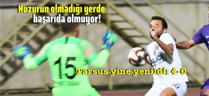 Tarsus İdmanyurdu, Manisa'da fark yedi: 4-0