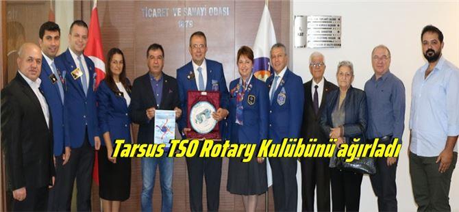 Tarsus TSO Rotary Kulübünü ağırladı