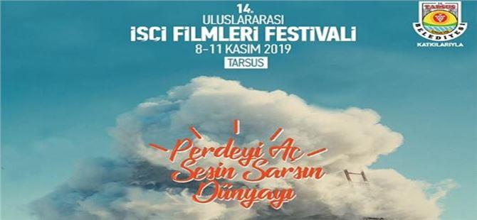 14. Uluslararası İşçi Filmleri Festivali Tarsus'ta