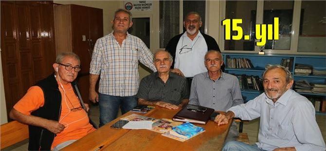 Tarsus Şairler ve Yazarlar Derneği'nin 15. yıl etkinlikleri başladı