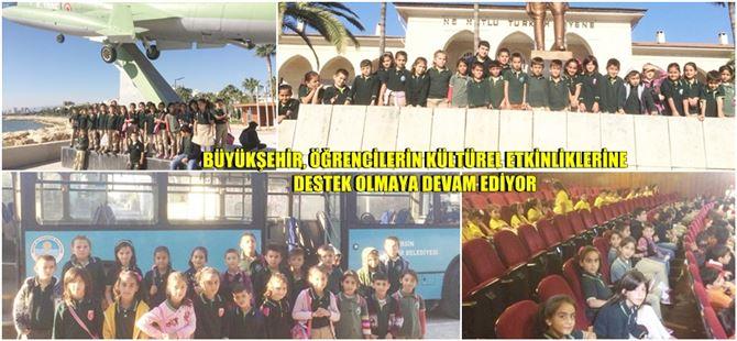 Tarsus Bahşiş İlkokulu Öğrencilerinin Mersin Gezisine Büyükşehir'den Ulaşım Desteği