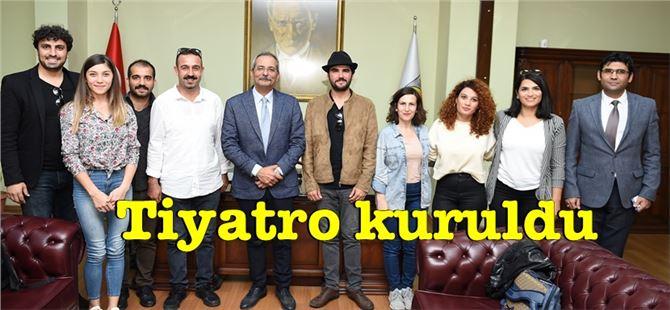 Tarsus'ta Belediye Şehir Tiyatrosu Kuruldu