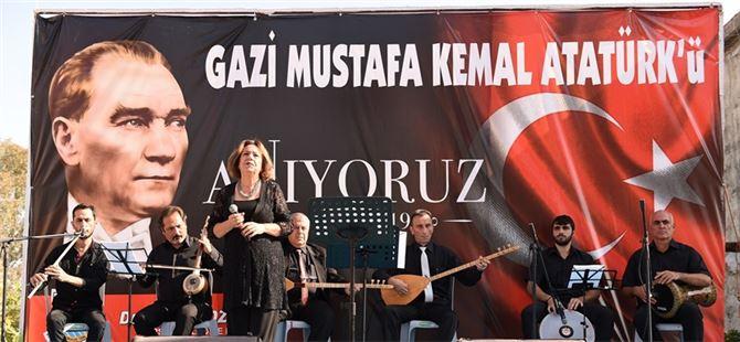 İncirgediği'nde Mustafa Kemal Atatürk Anıldı