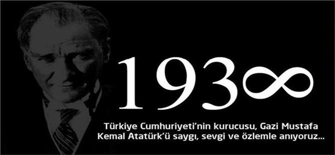 Başkan Murat Kaya'dan 10 Kasım mesajı