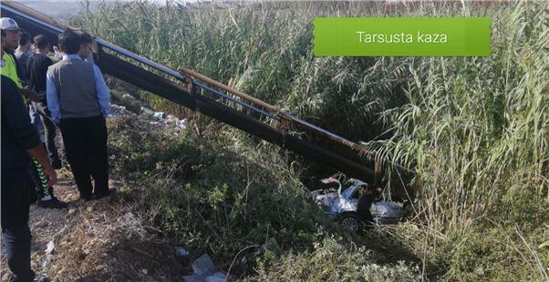 Tarsus'ta kaza 3 yaralı
