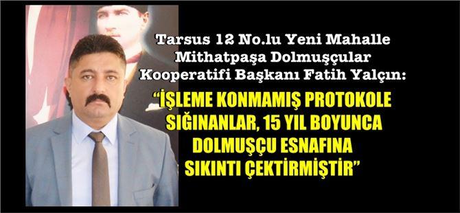 Başkan Yalçın'dan, Kocamaz'ın açıklamalarına cevap