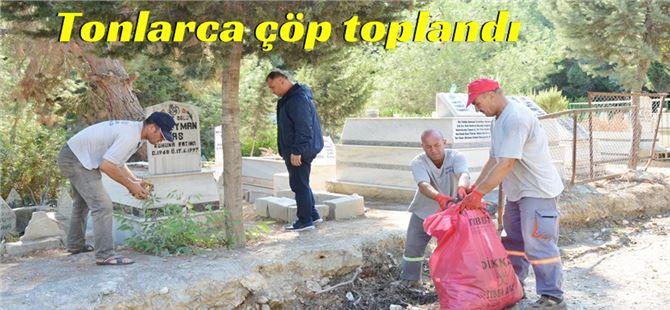 Büyükşehir'den Eshab-I Kehf Dağı Mezarlığı'nda Kapsamlı Temizlik