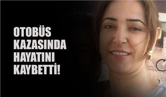 Otobüs kazasında Tarsuslu kadın yaşamını yitirdi